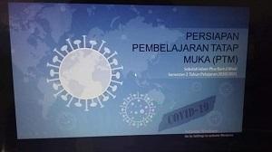 SOSIALISASI PERSIAPAN PEMBELAJARAN TATAP MUKA SEMESTER 2 - 2020/2021 SIP BAITUL MAAL